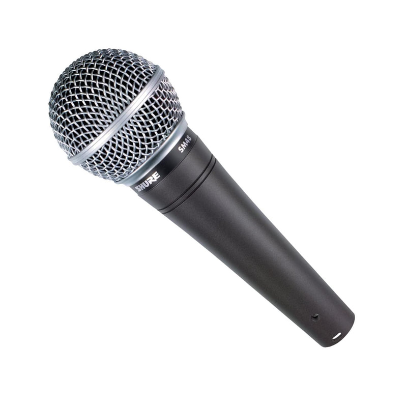 Shure SM48 Beginner Microphone for Podcast